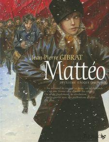 Mattéo - Jean-Pierre Gibrat