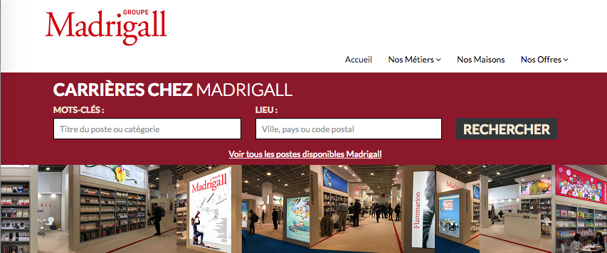 Madrigall - Site Carrières