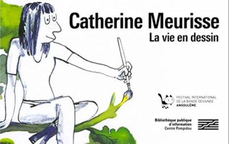 Catherine Meurisse, la vie en dessin – Exposition à la BPI
