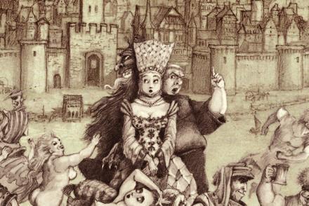 Les contes drolatiques, Paul et Gaëtan Brizzi / Futuropolis, 2021