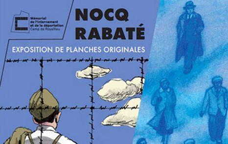La Déconfiture de Pascal Rabaté exposée au Mémorial de l'internement et de la déportation